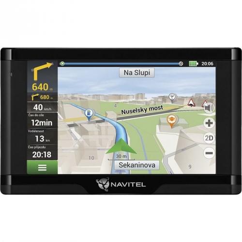 Navigační systém GPS Navitel E500 TMC Magnetic černá