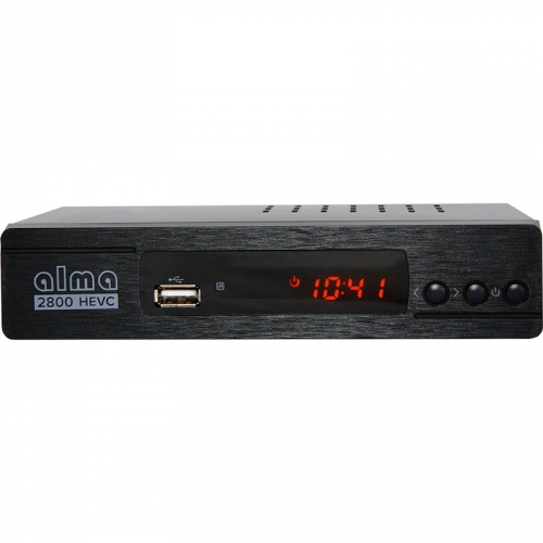 Set-top box ALMA 2800 SE, DVB-T2 H.265 (HEVC) černý