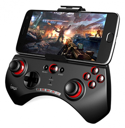 Gamepad iPega Multimedia Android/iOS/PC/PS3/N-Switch/Smart TV černý