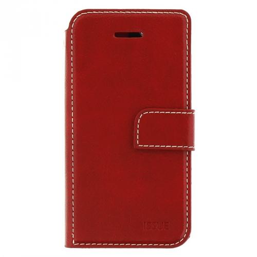 Pouzdro na mobil flipové Molan Cano Issue Book pro Xiaomi Mi A3 červené