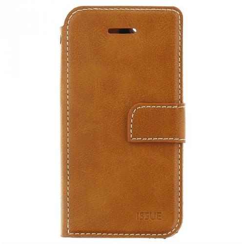 Pouzdro na mobil flipové Molan Cano Issue Book pro Xiaomi Mi 9T/Redmi K20 hnědé