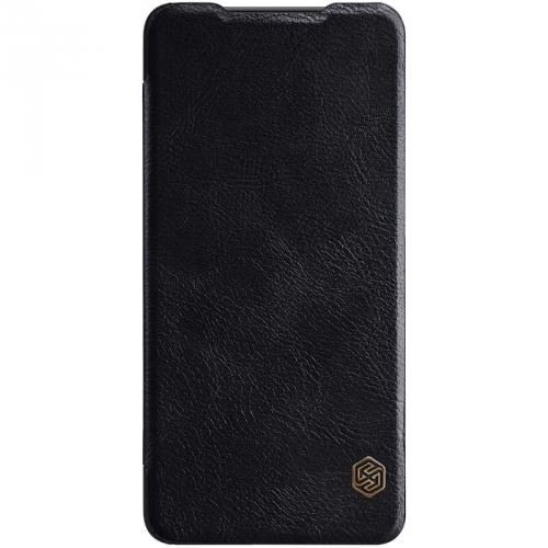 Pouzdro na mobil flipové Nillkin Qin Book pro Samsung Galaxy A50 černé