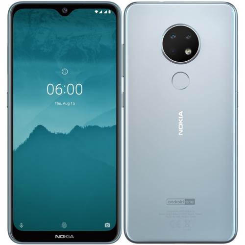 Mobilní telefon Nokia 6.2 Dual SIM stříbrný