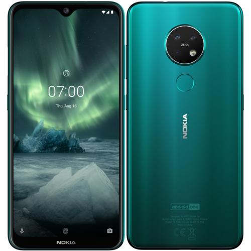 Mobilní telefon Nokia 7.2 Dual SIM zelený