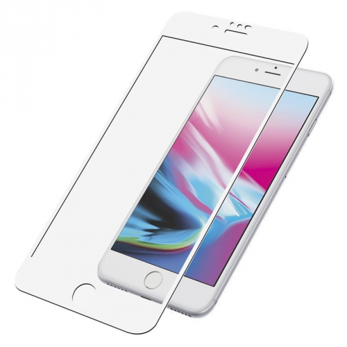 Ochranné sklo PanzerGlass Edge-to-Edge pro Apple iPhone 6/6s/7/8 Plus bílé