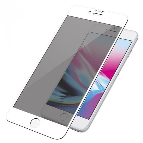 Ochranné sklo PanzerGlass Edge-to-Edge Privacy pro Apple iPhone 6/6s/7/8 bílé