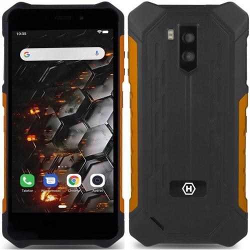Mobilní telefon myPhone Hammer Iron 3 3G černý/oranžový