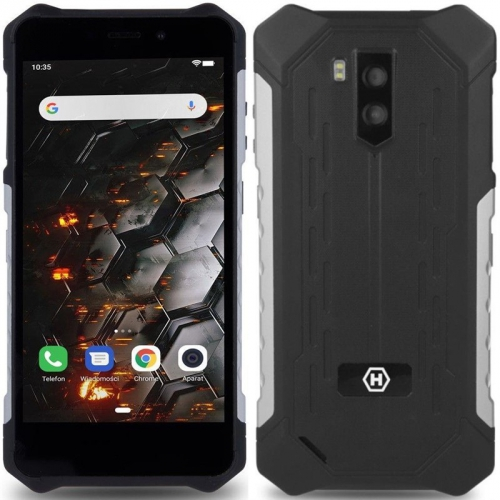 Mobilní telefon myPhone Hammer Iron 3 3G černý/stříbrný