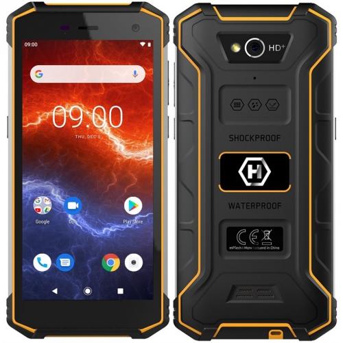 Mobilní telefon myPhone Hammer Energy 2 černý/oranžový