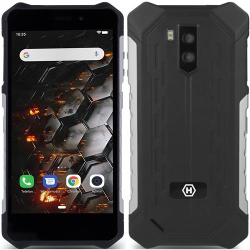Mobilní telefon myPhone Hammer Iron 3 LTE černý/stříbrný