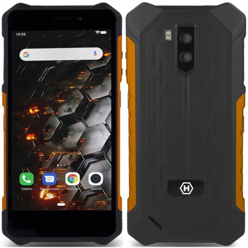 Mobilní telefon myPhone Hammer Iron 3 LTE černý/oranžový