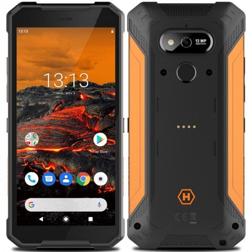 Mobilní telefon myPhone Hammer Explorer černý/oranžový