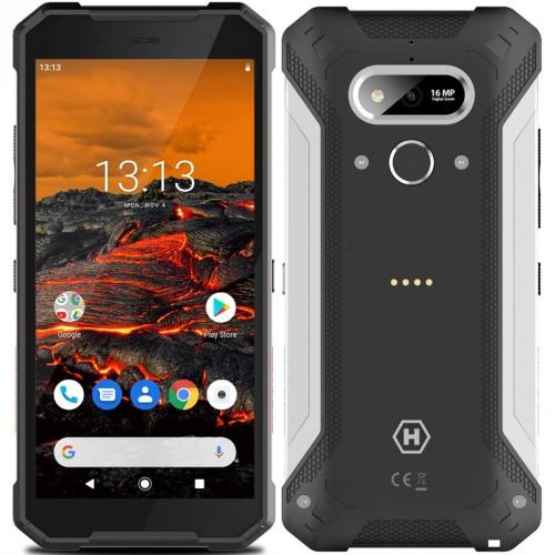 Mobilní telefon myPhone Hammer Explorer černý/stříbrný