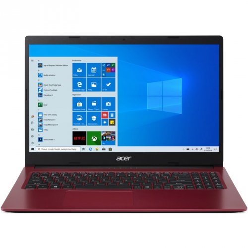 Notebook Acer Aspire 3 (A315-34-P8NY) červený