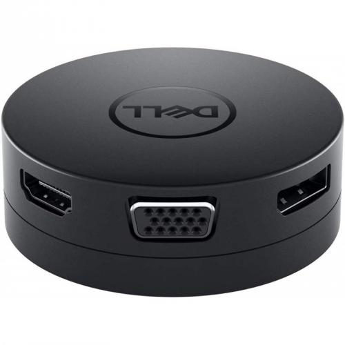 Dokovací stanice Dell USB-C/HDMI, VGA, DisplayPort, RJ45, USB černá