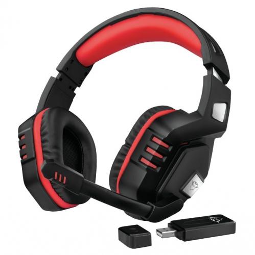 Headset Trust GXT390 Juga černý/červený