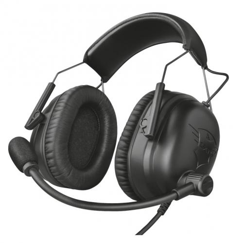 Headset Trust GXT 444 Wayman Pro černý