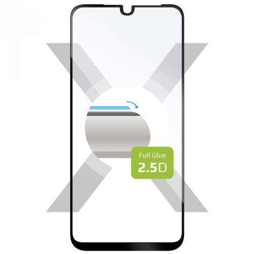 Ochranné sklo FIXED Full-Cover na Motorola One Macro černé