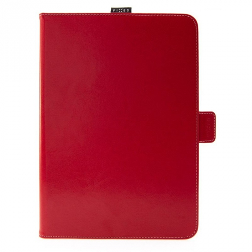 """Pouzdro na tablet flipové FIXED Novel na tablety 10,1"""" s kapsou pro stylus červené"""