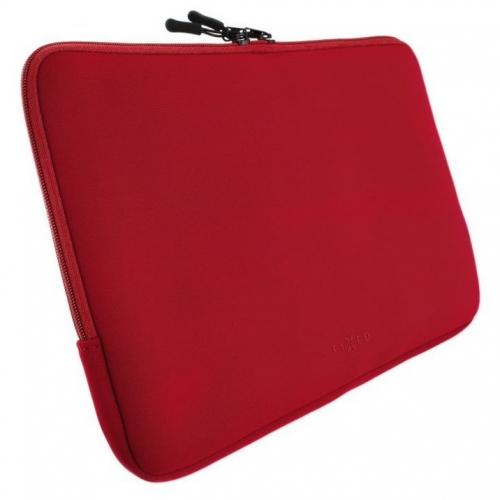 "Pouzdro na notebook FIXED Sleeve do 15,6"" červené"