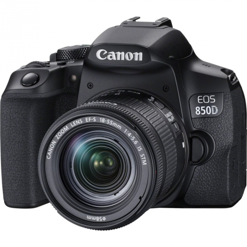 Digitální fotoaparát Canon EOS 850D + 18-55 IS STM černý + dárek