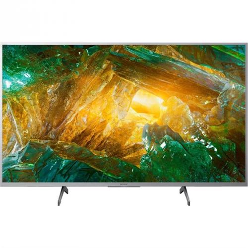 Televize Sony KD-49XH8077 stříbrná