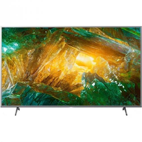 Televize Sony KD-55XH8077 stříbrná