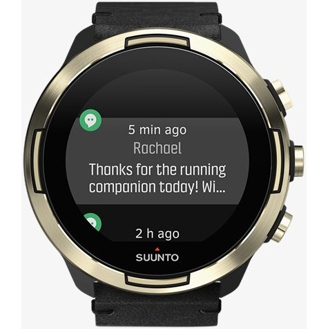 GPS hodinky Suunto 9 Baro - Gold Leather