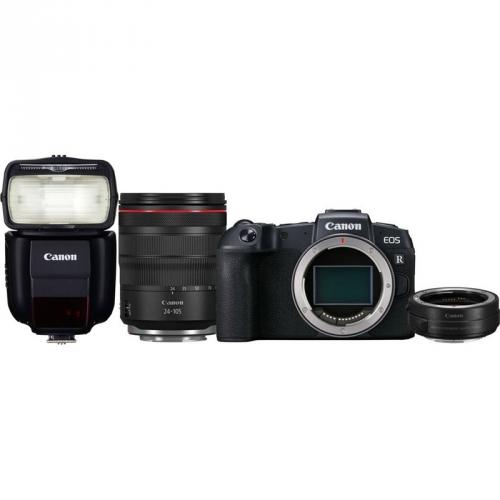 Set (Blesk Canon Speedlite 430EX III-RT) + (Digitální fotoaparát Canon EOS RP + M 24-105 L IS USM + adapter)