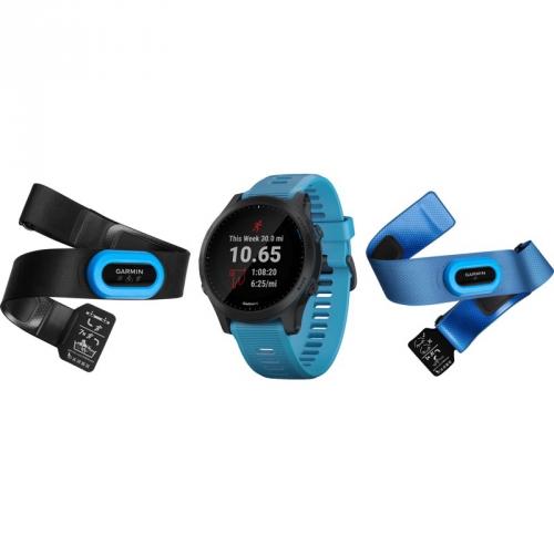 GPS hodinky Garmin Forerunner 945 PRO Optic TRI bundle modré
