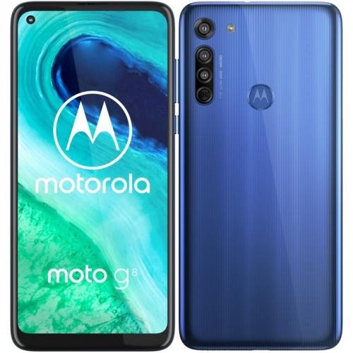 Mobilní telefon Motorola Moto G8 modrý