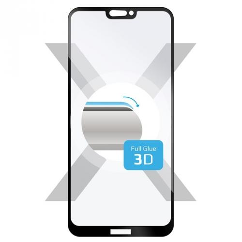 Ochranné sklo FIXED 3D Full-Cover pro Huawei P20 Lite černé