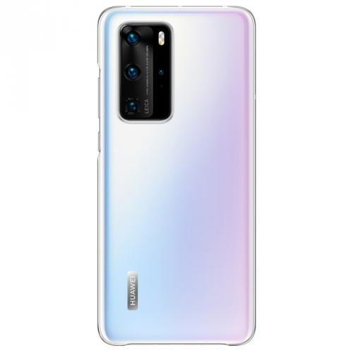 Kryt na mobil Huawei P40 Pro průhledný