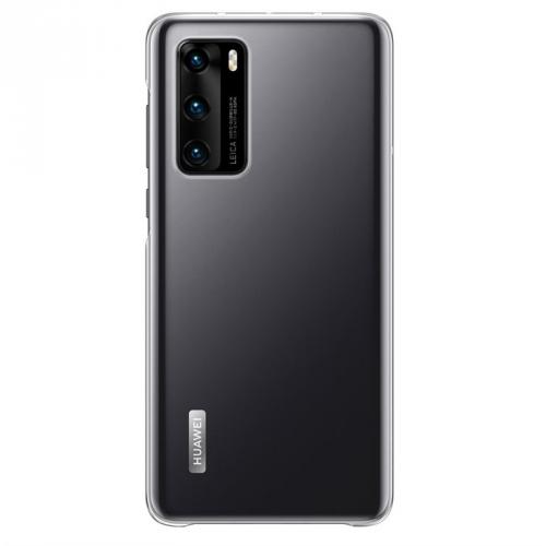Kryt na mobil Huawei P40 průhledný
