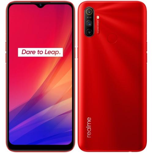 Mobilní telefon Realme C3 červený