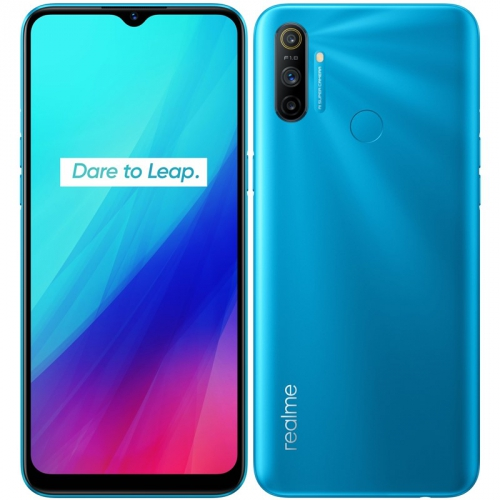 Mobilní telefon Realme C3 modrý