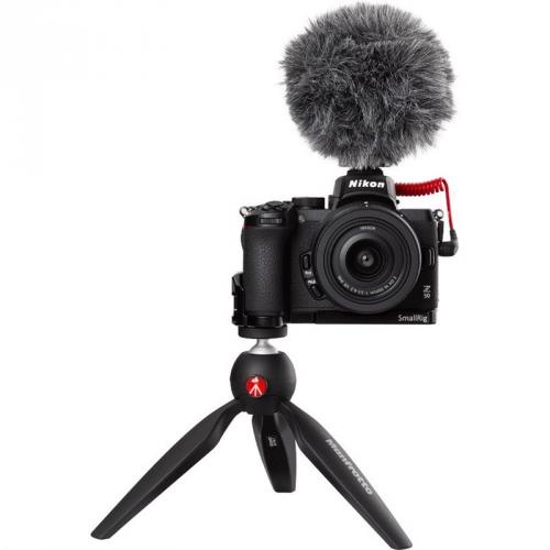 Digitální fotoaparát Nikon Z50 + 16-50 VR Vlogger Kit černý