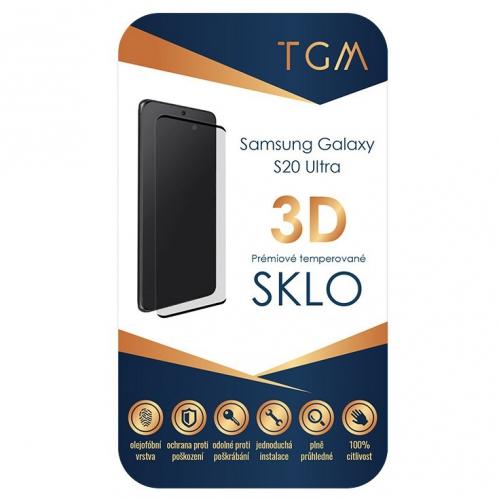 Ochranné sklo TGM 3D na Samsung Galaxy S20 Ultra