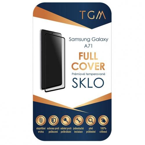 Ochranné sklo TGM Full Cover na Samsung Galaxy A71