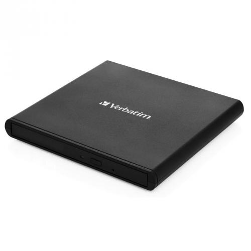 Externí DVD vypalovačka Verbatim CD/DVD Slimline USB 2.0 černá
