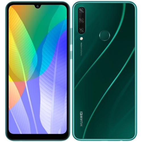 Mobilní telefon Huawei Y6p zelený