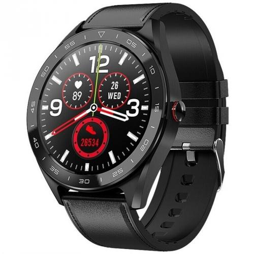 Chytré hodinky IMMAX OWN FACE černé