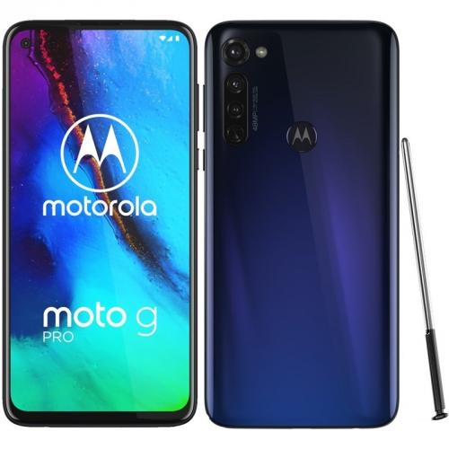 Mobilní telefon Motorola Moto G Pro - Graphene Blue