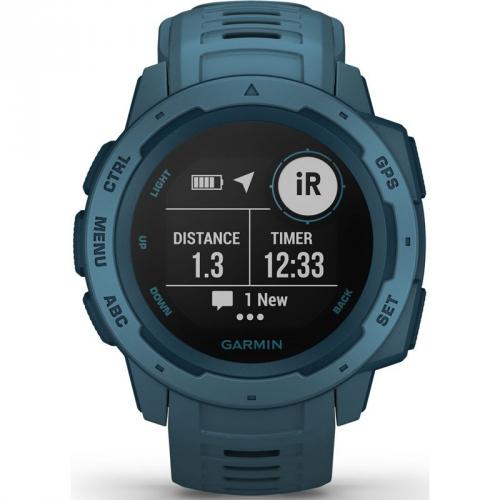 GPS hodinky Garmin Instinct Blue Optic