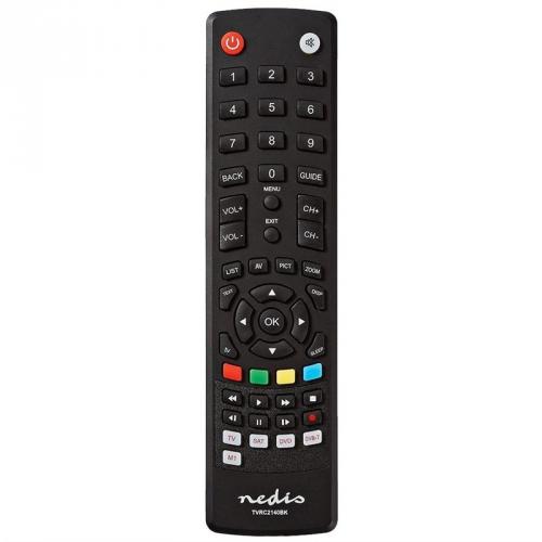Dálkový ovladač Nedis univerzální TVRC2140BK