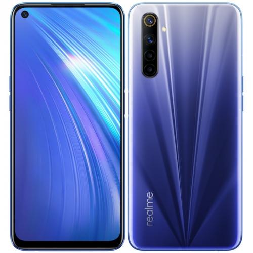 Mobilní telefon Realme 6 64 GB modrý