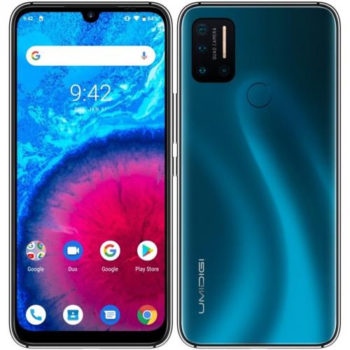 Mobilní telefon UMIDIGI A7 Pro 128 GB modrý