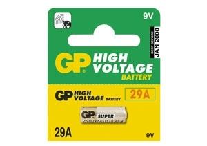 Baterie GP 29A ALKAL, 9V, 18mAh, B1395
