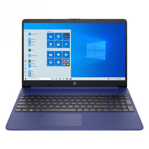Notebook HP 15s-eq1613nc modrý + Microsoft 365 pro jednotlivce