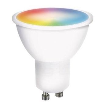 Solight LED SMART WIFI, GU10, 5W, RGB
